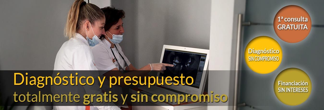 Consigue tu diagnóstico gratuito en CLAVISUR clínicas