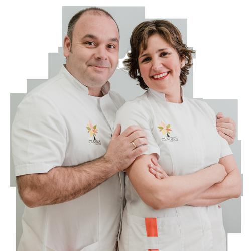 Eligio y Cristina, Podólogo y Odontóloga en CLAVISUR clínicas
